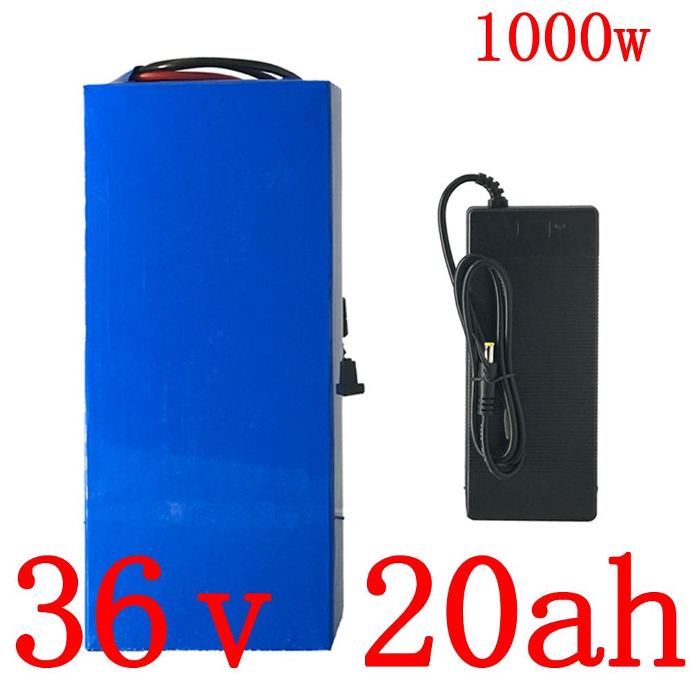 36V 10Ah 18Ah 20Ah 25Ah 30Ah Lithium Battery For 500W 750W 1000W Ebike Scooter