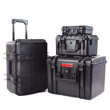 Protection box equipment tools storage box plastic PP Alloy equipment safety rod case bag shockproof waterproof with foam
