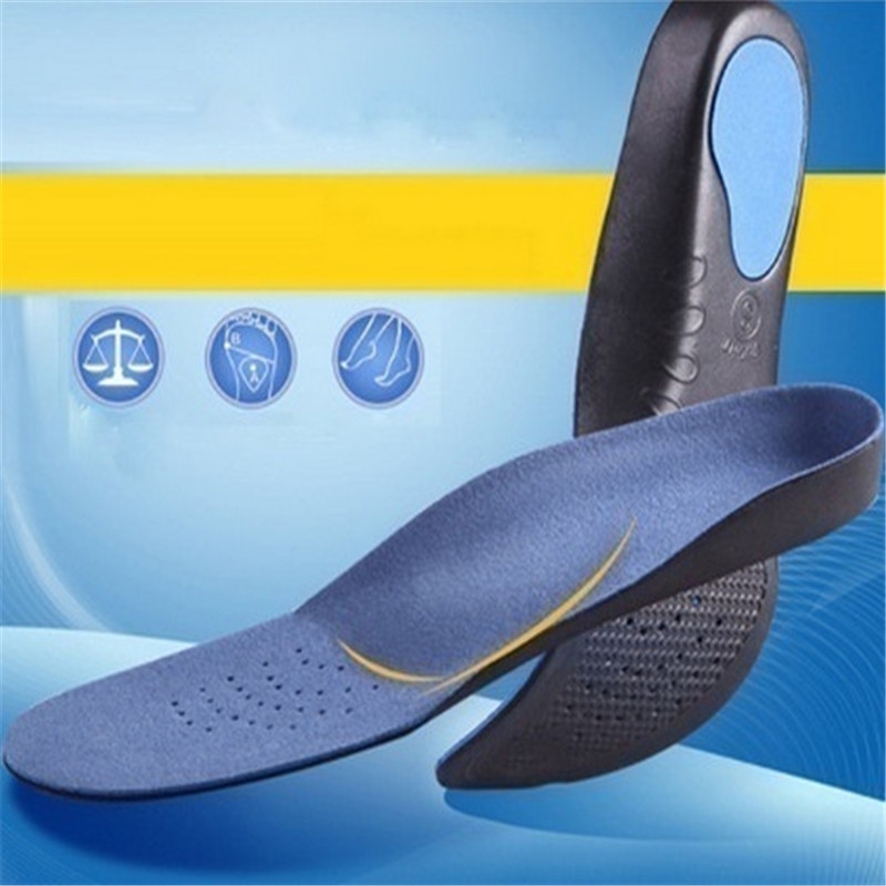 Unisex Arch Support Sport Shoe Pad 1Pair Spring Yard EVA Adult Flat Foot Arch Support Orthotics Orthopedic Insoles For Men Women