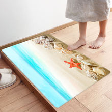 Приморские коврики для гостиной Противоскользящие ванной с морскими