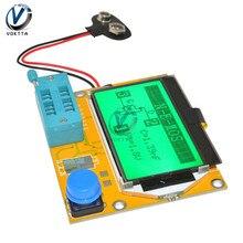ЖК-цифровой Транзистор тестер LCR-T4 подсветка диод Триод Емкость ESR T4 метр цифровой ЖК-экран для MOSFET/JFET/PNP/NPN