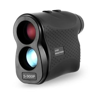Image 2 - 600M / 900M lazer telemetre avcılık Golf lazer menzil ölçer lazer mesafe ölçer hız test cihazı dijital ölçüm monoküler