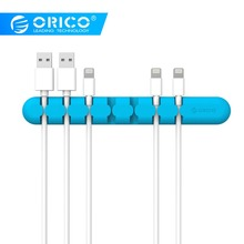 ORICO Cable Winder Earphone Cable Organizer Wire Storage Silicon Charger Cable Holder Clips  Cable Management for Mouse,Earphone mygeek 2pcs headphones cable organizer wire storage silicon charger cable holder clips winder for mp3 mp4 mouse earphone
