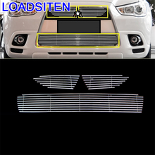 Exterior Modified Auto Automobile Modification Styling Car Accessories Racing Grills 11 12 13 16 17 18 FOR Mitsubishi ASX