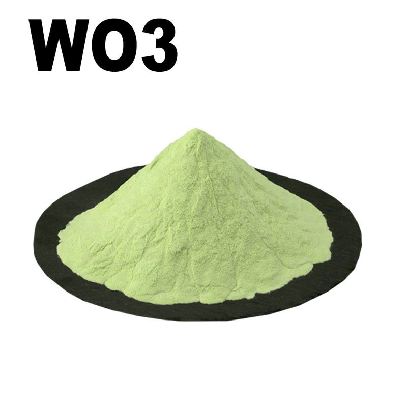 WO3 High Purity Powder 99.9% Tungsten Oxide For R&D Ultrafine Nano Powders About 1 Micro Meter CAS: 1314-35-8 Detector Toxic Gas