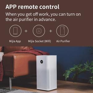 Image 2 - Xiaomi Mi Smart Socket Mijia Smart home plug wifi or Bluetooth Version APP Remote Control Power Detection Work with Mi home APP