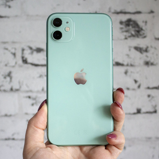 Apple iPhone 11 Original iOS Mobile Phone 6.1inch A13 Bionic 4GB RAM 64GB/128GB/256GB ROM Hexa Core 12MP NFC 4G LTE Cellphone 6