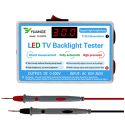 0-300v conduziu o verificador multiuso do luminoso da tevê da lâmpada tiras conduzidas grânulos instrumentos da medida da ferramenta do teste para a luz conduzida
