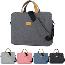 цена на Nylon 13 14 15 15.6 Laptop Shoulder bag Sleeve Pouch Bag For Xiaomi air Macbook Air Pro Lenovo Dell HP Asus Acer Notebook Case