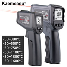 Digital Infrared Thermometer Laser Temperature Meter Non Contact Thermometer Temperature Meter Gun Industry IR Pyrometer