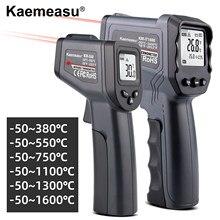 Laser Temperatuur Meter Digitale Infrarood Thermometer Non Contact Thermometer Temperatuur Meter Gun Industrie Ir Pyrometer