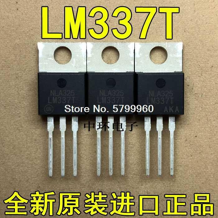 10 шт./лот LM337T MOT TO-220 1.5A 1,2 V-37V транзистор