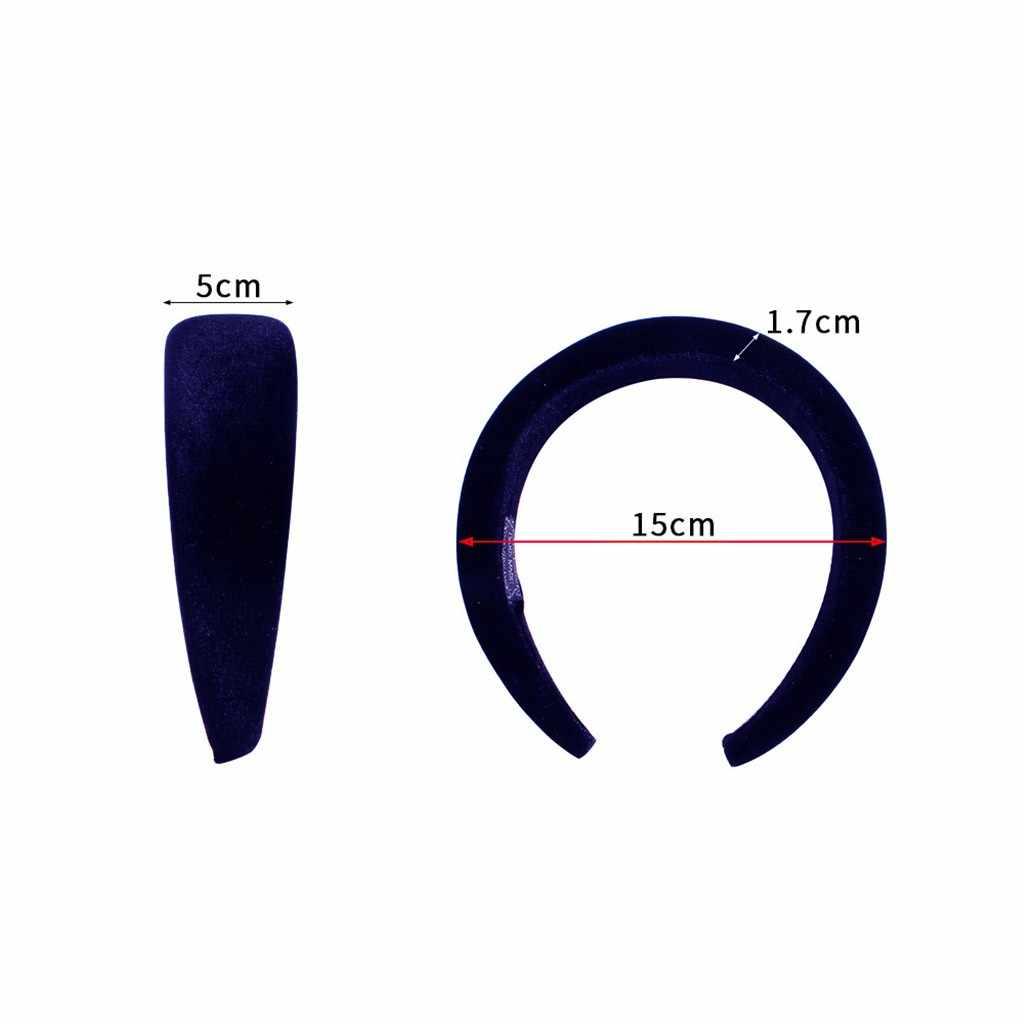 4 шт. высококачественные бархатные повязки для волос мягкие повязки для волос модные аксессуары для волос для женщин ювелирные изделия Прямая поставка # WS