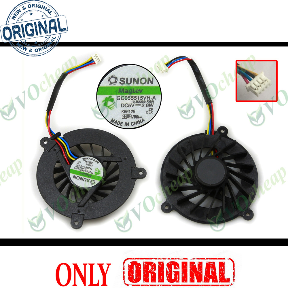 Original cooling fan for ASUS F3 F3J F3S KFB0505HHA LAPTOP CPU FAN Free shipping