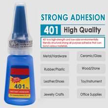 1 garrafa 401 cola incolor multifunction super cola rápida sol cola de vidro cerâmica casa ferramentas artigos tslm1