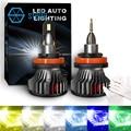 Stella Светодиодные Автомобильные фары s 3000k/4300k/5000k/6000k/8000k/12000k передсветильник фары s автомобильные лампы для льда лампочки H4/H7/H1/H3/H11/9005/9012/5202