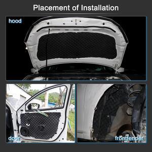 Image 4 - UXCELL 50*100/200/300/500CM insonorisation tapis disolation bruit bouclier thermique isolation automobile amortissement mousse coton son