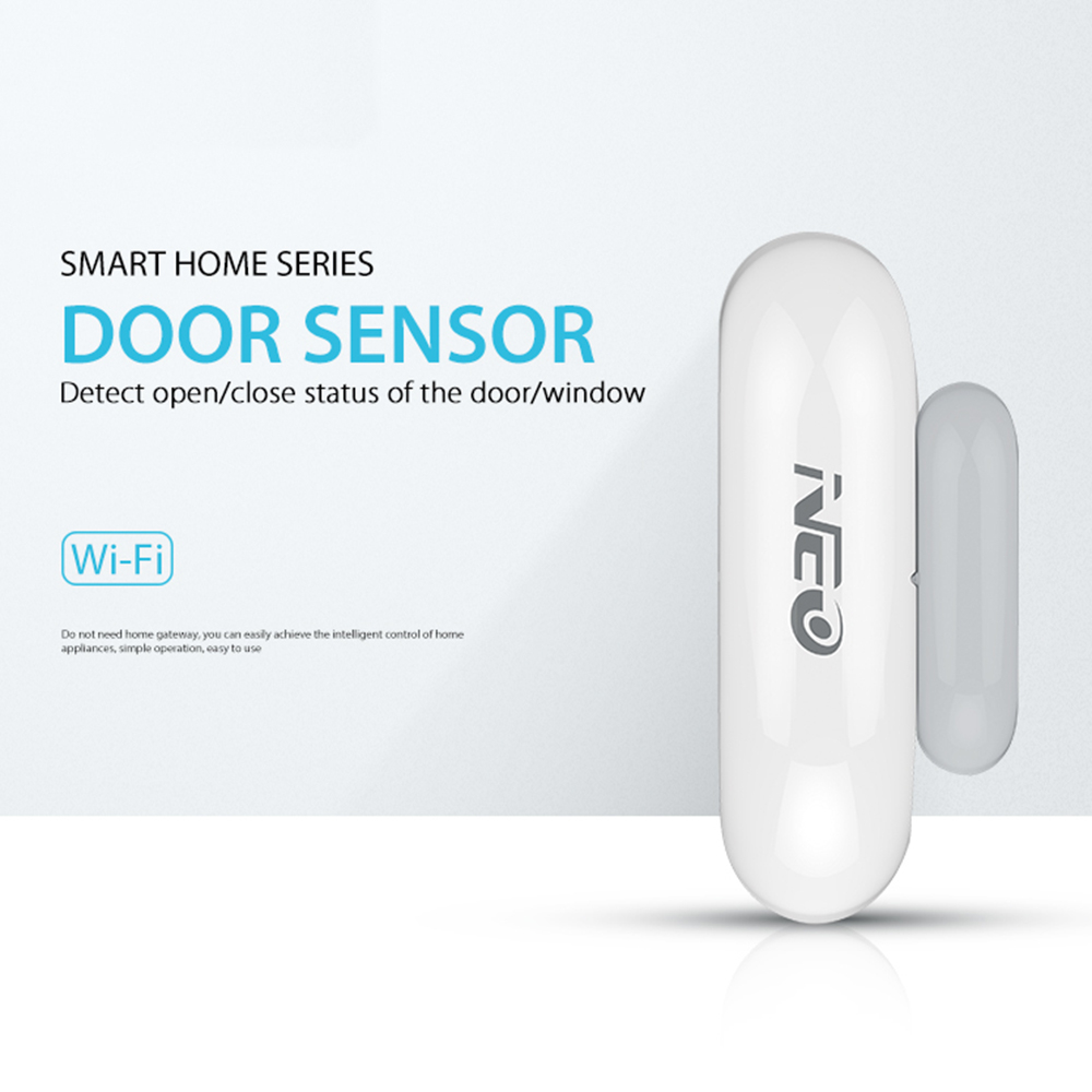 NEO Coolcam NAS-DS01W WiFi Door Sensor / Window Sensor CR2 Built-in Battery Smart Wireless Door & Window Sensor