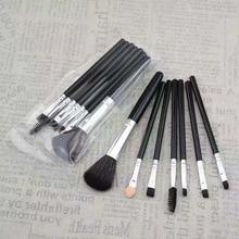 7pcs Portable Eyeshadow Makeup Brush Set Soft Cosmetic Eyeliner Brow Shape