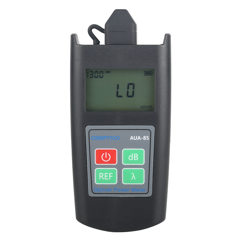 Hot Sale AUA-85 Miniature Optical Power Meter Tester - Optical Attenuation Meter 6 Wavelength Test Range -70 To +10