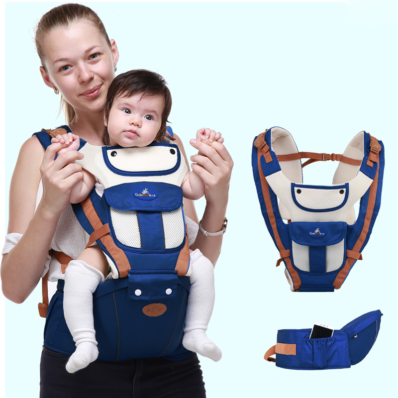 Baby Carrier Four Seasons Multifunctional Children's Waist Stool Breathable Child Mother And Baby Moises Carrier Hold Baby Sling