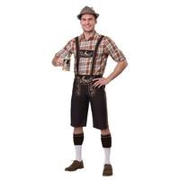 Carnival Men Germany Bavarian Bartender Cosplay The Munich Oktoberfest Lederhosen Costume Tavern Fancy Party