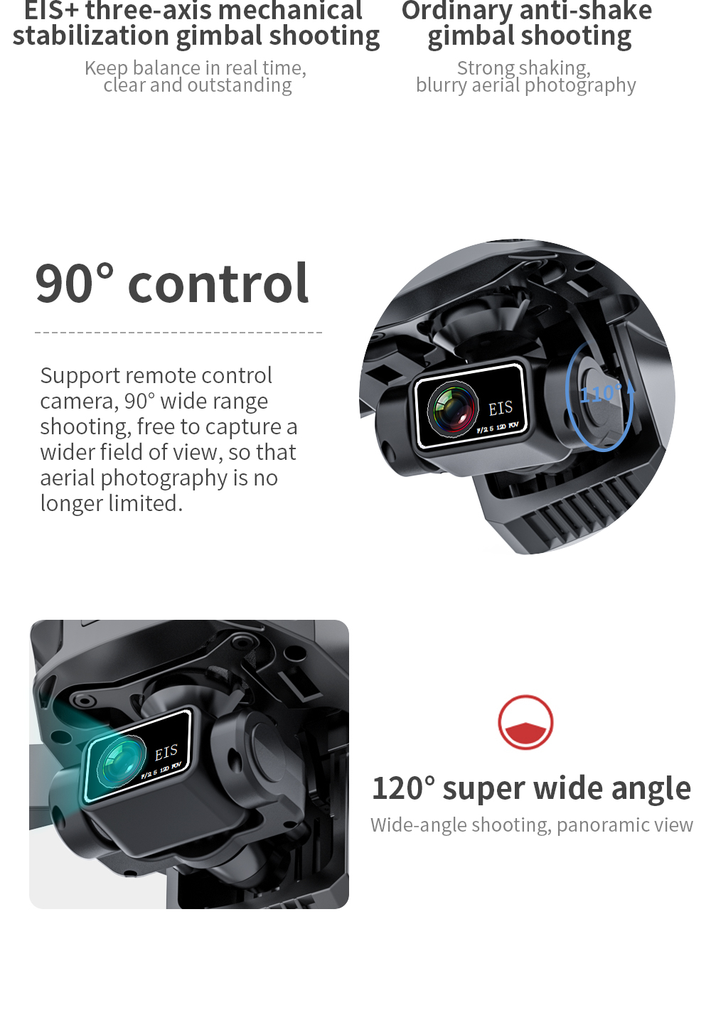 H72064edf74ce4e30ae56fbe72d1f31ecx - New KF101 GPS Drone 4K Professional 8K HD EIS Camera Anti-Shake 3-Axis Gimbal 5G Wifi Brushless Motor RC Foldable Quadcopter