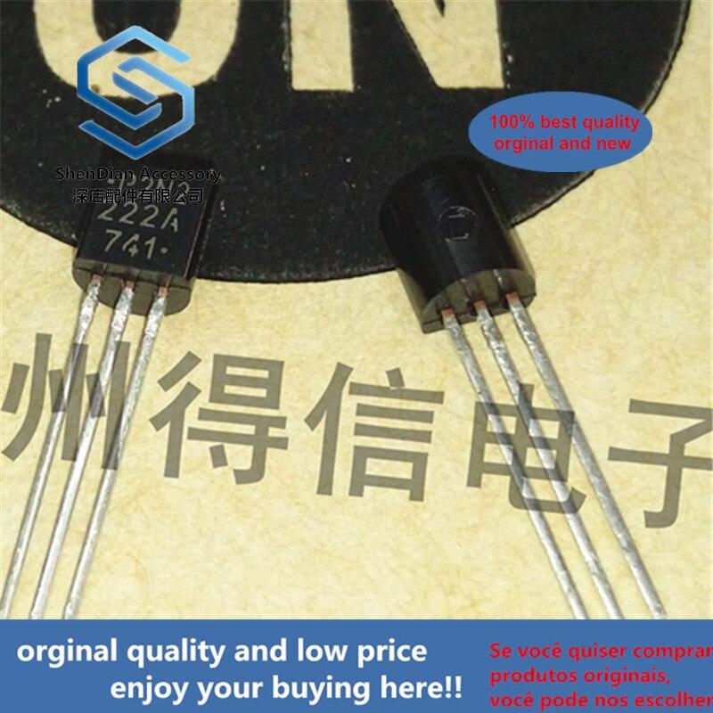 30pcs 100% Orginal New P2N2222A MPS2222A TO-92 Amplifier Transistors Real Photo