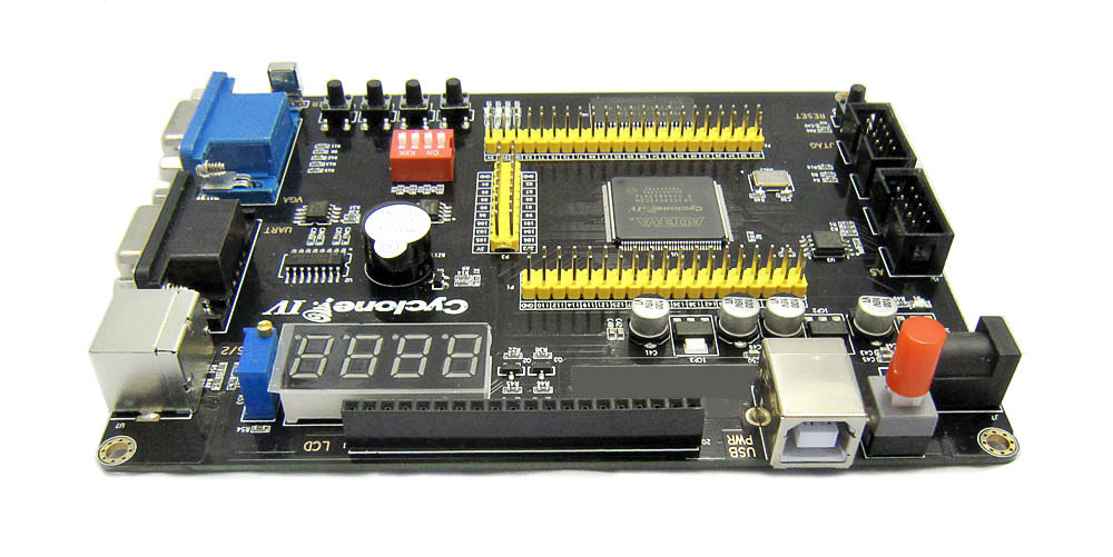 Image 4 - Altera Cyclone IV EP4CE6 FPGA Development Board NIOSII EP4CE PCB and USB Blaster Jtag AS Programmer-in Integrated Circuits from Electronic Components & Supplies