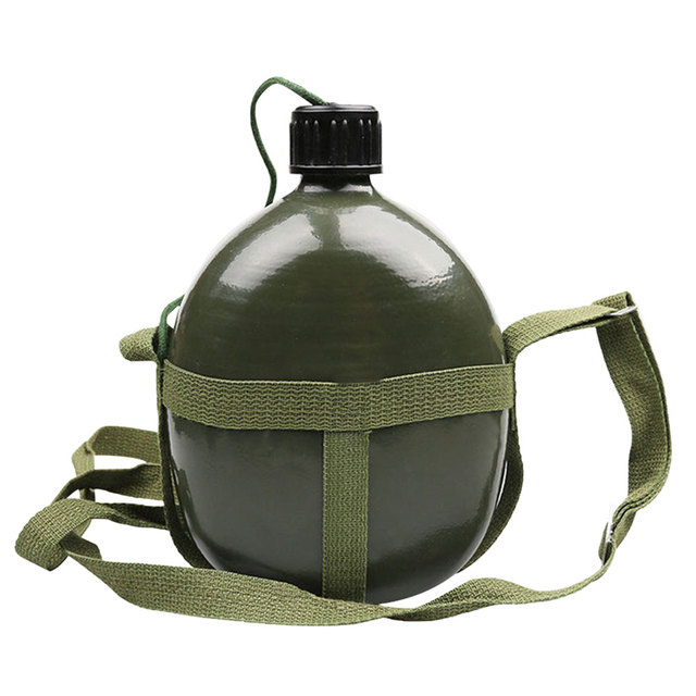 87-style Military Kettle Bottle Aluminum Convenient Large Capacity Water Bottle Canteen Kettle for Outdoor Camping Travel #W0 1