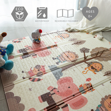 XPE Foldable Crawling Mat Children Carpet Playing Baby Rug Baby Play Pad Game Floor Mat for Kids Living Room Mats Puzzle Playmat baby game pad knee pad for kids safety cartoon floor play mats toy crawling baby game mat for keep baby warmer education gift