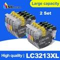INKARENA 2 комплекта LC3213 XL Полный чернильный картридж для принтера Brother DCP-J772DW DCP-J774DW MFC-J890DW MFC-J895DW принтеры 4 цвета