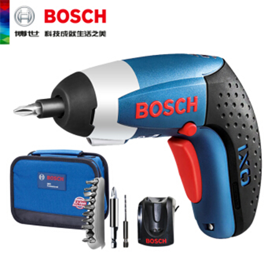BOSCH IXO3.6 Electric Screwdriver Lithium-ion Battery Cordless Mini drill Power Tools Rechargeable Screwdriver DIY Hand Tool