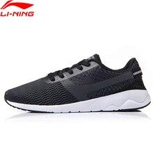 Li-Ning/Мужская обувь для образа жизни; спортивная обувь с подкладкой; дышащие кроссовки; удобная спортивная обувь; светильник; AGCM041 YXB041