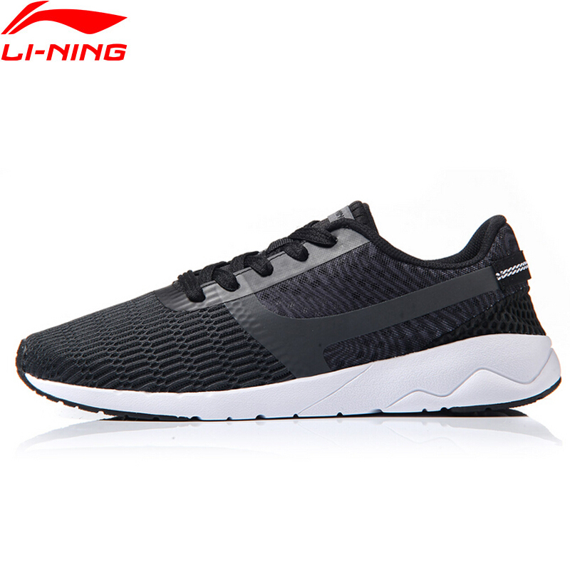 (Break Code)Li-Ning Men's Heather Lifestyle Shoes LiNing Li Ning Breathable Sneakers Light Comfort Sport Shoes AGCM041 YXB041
