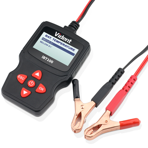 Image 4 - Vident iBT100 12V Analizador de batería para inundados, AGM,GEL 100 1100CCA herramienta de diagnóstico de probador automotriz