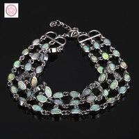 SZ0100 AAA Fine 925 sterling silver Opal bracelet for women jewelry gift for fashion jewelry