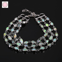SZ0100 AAA Fine 925 sterling silver Opal bracelet for women jewelry gift for fashion jewelry