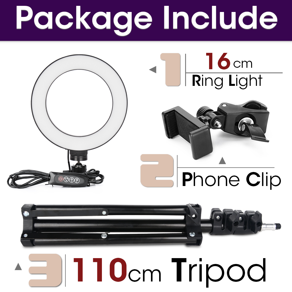 16cm and 110cmTripod