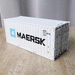 MAERSK 1:20 модель контейнера и серый/белый роскошная мебель контейнер для хранения игрушек Подарочная коробка моделирования