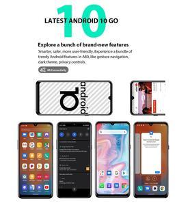 """Blackview A80 Quad задняя камера Android 10 телефон 6,2 """"водосберегающий экран 2 Гб + 16 Гб MTK6737 Четырехъядерный 4G мобильный телефон аккумулятор 4200 мАч"""
