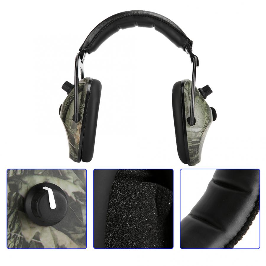 Image 4 - Electronic Tactic Shooting Ear Protection Earmuffs Anti noise Ear Protector NRR 28db Hearing Protector Headphones Soundproof hotEar Protector   -
