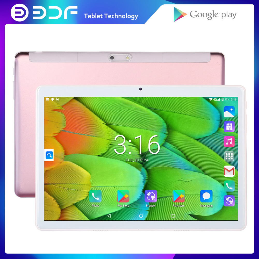 BDF 10 Inch Android 4.4 Quad Core Phone Call Tablets Pc 1GB+16GB WiFi Tablet Support Google Market Tab Android Tablet