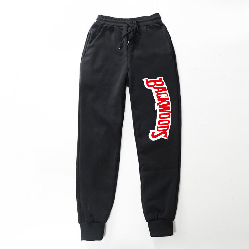New Backwoods Pants High Quality Casual Warm Jogger Sweatpants Trousers Fashion Comfortable Sportswear