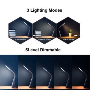 Image 5 - โคมไฟตั้งโต๊ะ LED 3 โหมด 5 ระดับ TOUCH Control LED โคมไฟตั้งโต๊ะ 5W Dimmable สำนักงานศึกษาโคมไฟตั้งโต๊ะที่มีจอแสดงผล LCD