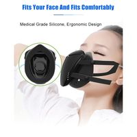 Barato https://ae01.alicdn.com/kf/H7208841bdd494b2fbab640c116623bd6h/Máscara facial eléctrico inteligente purificador de aire Anti polvo contaminación suministro de aire fresco T3LB.jpg