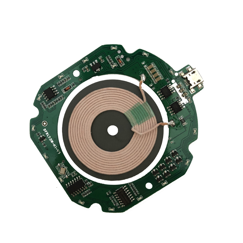 Ultra-thin Fast Wireless Charger Transmitter Module Circuit Board Coil Import ST Fast Charge Scheme Universal QI