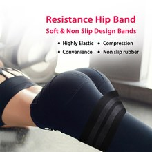 Women Yoga Guidance Hip Band Resistance Bands Fitness Equipment For Warmups Squats Mobility Workout Leg Pull band1(China)