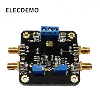 LM358 Module Operational Amplifier Module Dual Dual Channel 700k Bandwidth Low Power SMA Input and Output Function demo Board opa1611 module low power precision operational amplifier audio preamplifier audio op amp function demo board