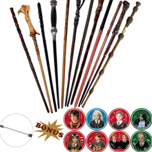 Magic Wands Stickers Dumbledore-Harried No Metal with as Gift 28-Kinds Toy No-Box Kid